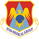 Logo: 375th Medical Group - Scott Air Force Base